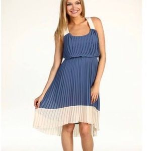Cornflower Blue Pleated Sundress - Jessica Simpson